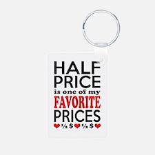 Funny Bargain Hunter Mega Shopper Keychains