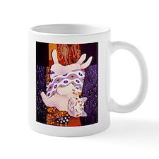 Klimt Kitty Mug
