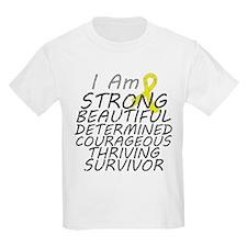 Sarcoma Cancer Strong Survivor T-Shirt