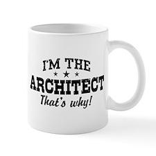 Funny Architect Small Mug