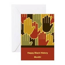Celebrating Black History Month Greeting Cards