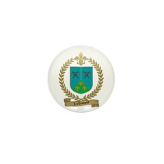 LAROCQUE Family Crest Mini Button