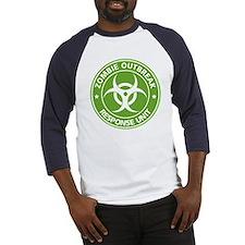 Zombie Outbreak Response Unit Baseball Jersey