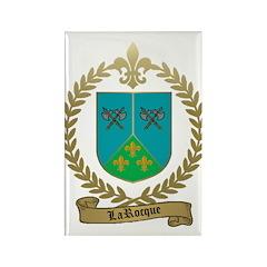LAROCQUE Family Crest Rectangle Magnet