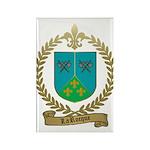 LAROCQUE Family Crest Rectangle Magnet (100 pack)