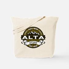 Alta Olive Tote Bag