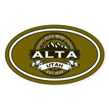 Alta Olive Decal
