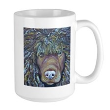 irish water spaniel Mugs