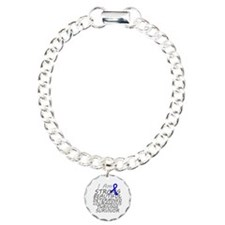 Rectal Cancer Strong Survivor Charm Bracelet, One