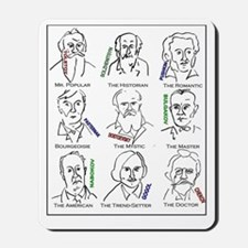 Great Russian authors Mousepad