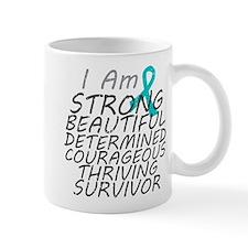 Peritoneal Cancer Strong Survivor Mug