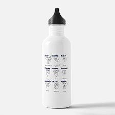 Greek Geek Water Bottle