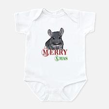 Chin Merry XMas Infant Bodysuit