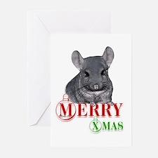 Chin Merry XMas Greeting Cards (Pk of 10)