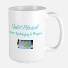 Quiet Please: Introvert Recharging Mugs
