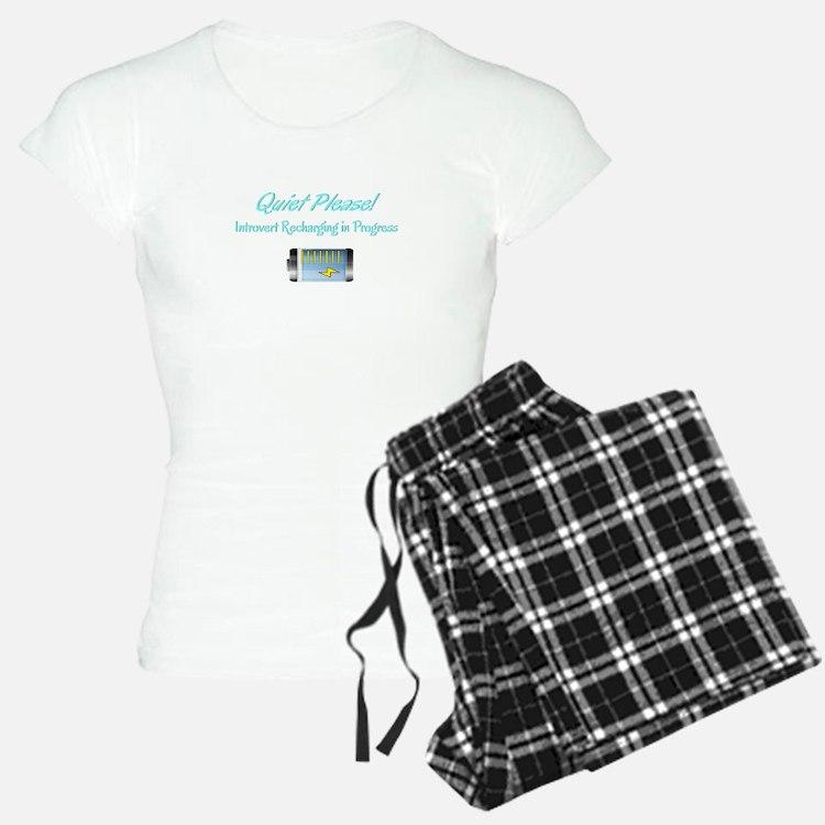 Quiet Please: Introvert Recharging pajamas