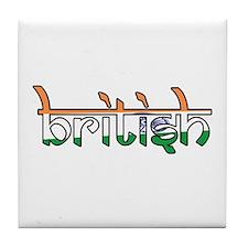 British Tile Coaster