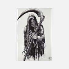 Dark Reaper Of Death Rectangle Magnet