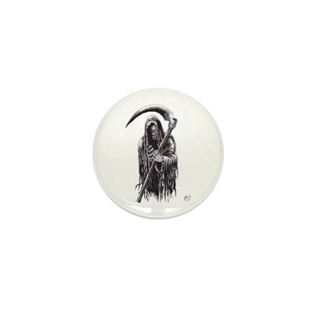 Dark Reaper Of Death Mini Button (10 pack)