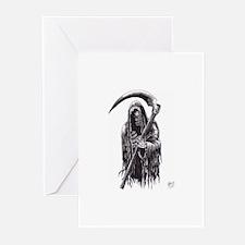Dark Reaper Of Death Greeting Cards (Pk of 10)