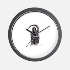 Dark Reaper Of Death Wall Clock
