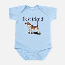 Best Friend Dog Infant Bodysuit