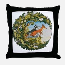 The Animals Of Farthing Wood Throw Pillow