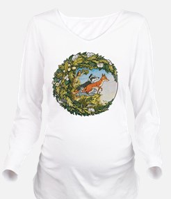 The Animals Of Farth Long Sleeve Maternity T-Shirt