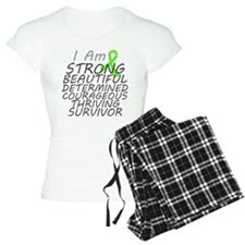 Lymphoma Strong Survivor pajamas