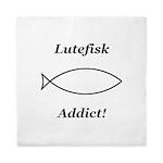 Lutefisk Addict Queen Duvet
