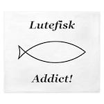 Lutefisk Addict King Duvet