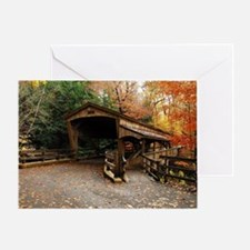 Lantermans Mill Bridge Greeting Card