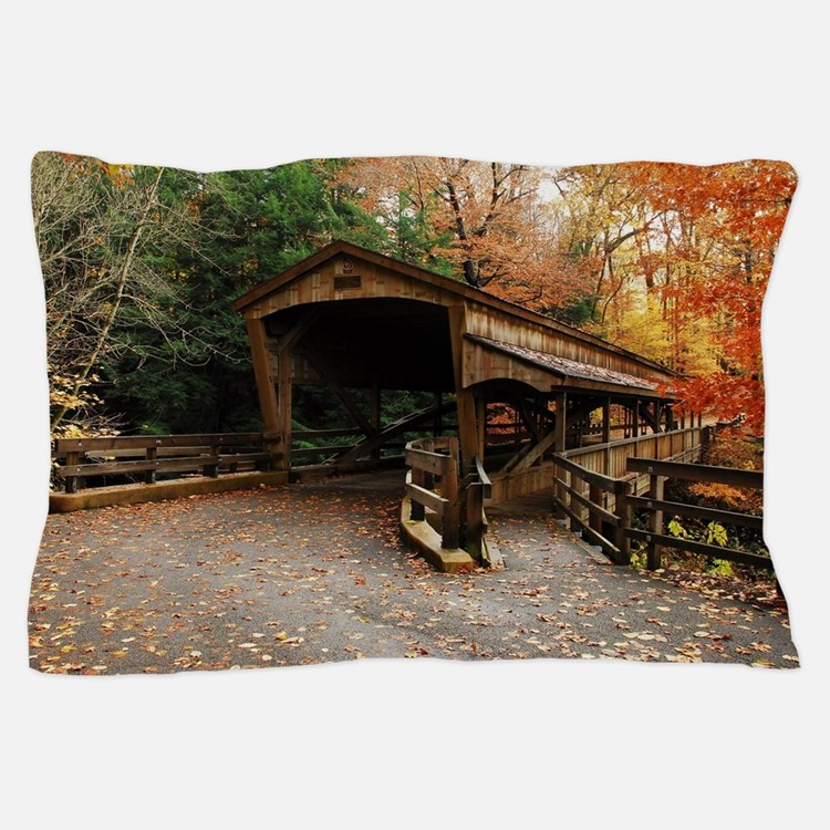 Lantermans Mill Bridge Pillow Case