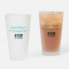 Quiet Please: Introvert Recharging Drinking Glass