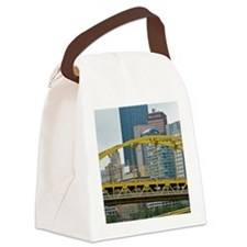 Bridges of Pittsburgh Canvas Lunch Bag