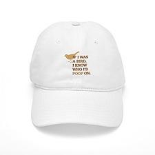 Funny Bird Poop Baseball Cap