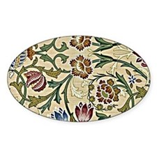 William Morris, Brocade, vintage fl Decal