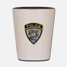 Cape Coral Police Shot Glass