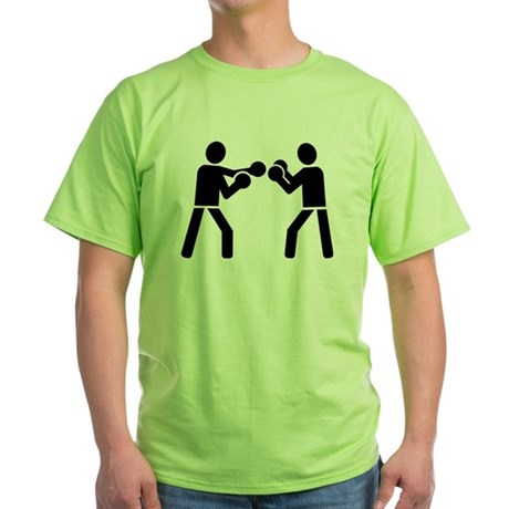 Boxing fighters Green T-Shirt