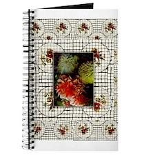 Floral Mosaic Tile Vintage Painting Journal