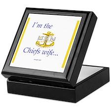 Chiefs wife Keepsake Box