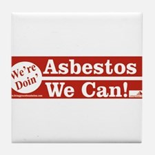 Cute Asbestos Tile Coaster