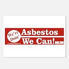 Cute Asbestos Postcards (Package of 8)