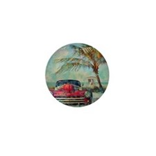 Vintage Beach Mini Button