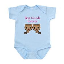 Best Friends Forever Infant Bodysuit