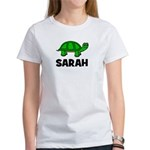 Turtle Design with Sarah Women's T-Shirt