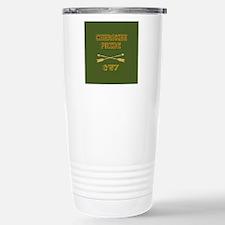Cherokee Pride With Arrows Green Travel Mug