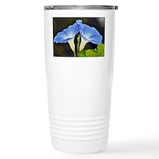 Blue Bell flower Travel Mug