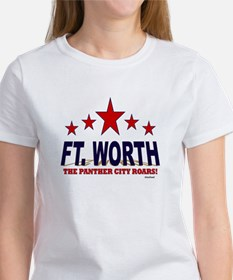 Ft. Worth The Panther City Roars Women's T-Shirt