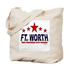Ft. Worth The Panther City Roars Tote Bag